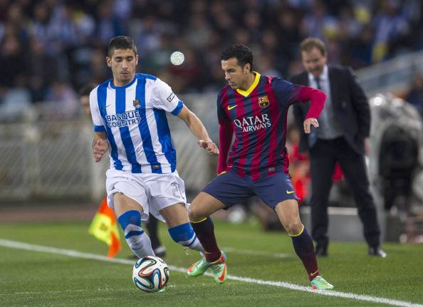 Real Sociedad v Barcelona - Copa del Rey: Semi Final Second Leg