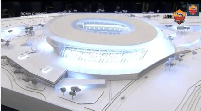Immagine stadio roma