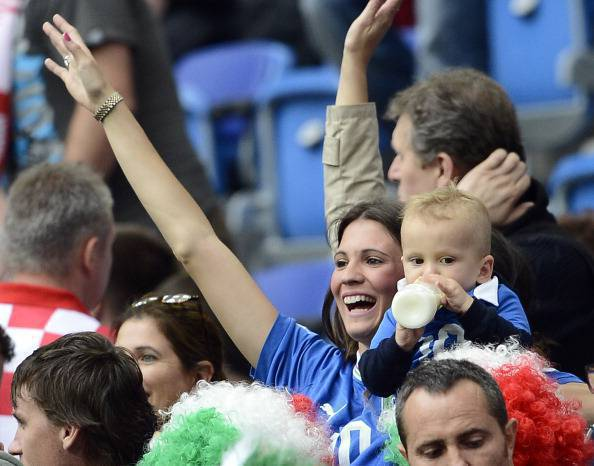 Italy v Croatia - Group C: UEFA EURO 2012