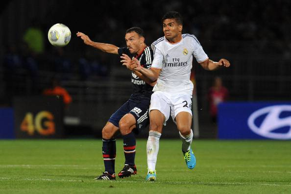 Olympique Lyonnais v Real Madrid - Pre-Season Friendly