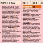 Foto – Napoli-Fiorentina, voti e pagelle della Gazzetta dello Sport: Benitez sbaglia tutto, Aquilani sublime