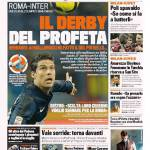 Gazzetta dello Sport – Il derby del Profeta
