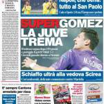 Corriere dello Sport – Super Gomez, la Juve trema