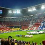 FOTO –  Bayern-Real Madrid: l'Allianz Arena è uno spettacolo. Una coreografia da urlo!