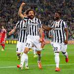 Video – Europa League, Juventus-Lione 2-1: Pirlo e Marchisio portano i bianconeri in semifinale