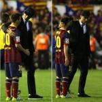 FOTO&VIDEO – Cristiano Ronaldo consola Messi: il portoghese mostra tutta la sua classe!