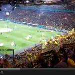 Video- I tifosi del Dortmund cantano you'll never walk alone