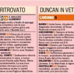 Foto – Juventus-Livorno, voti e pagelle della Gazzetta dello Sport: Llorente decisivo, Duncan non si arrende