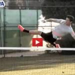 Video – Cristiano Ronaldo umilia Nadal: che acrobazie a calcio tennis!