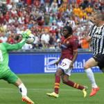Roma-Juventus 0-1, l'ex Osvaldo punisce i giallorossi all'ultimo secondo: voti e pagelle