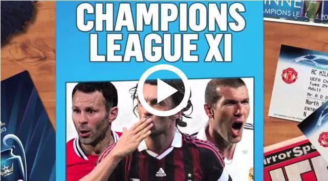 CHAMPIONS TOP 11
