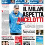 Rassegna Stampa: Corriere dello Sport – Il Milan aspetta Ancelotti