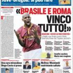 Corriere dello Sport: 'Brasile e Roma, vinco tutto!'