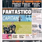 Gazzetta dello Sport: Fantastico Capitano