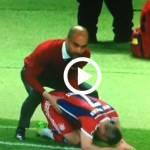 Video – Bayern Monaco, Guardiola ed il 'massaggio' assurdo a Ribery: attimi di disagio in campo