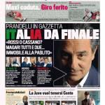 Gazzetta dello Sport – Prandelli 'Italia da finale'