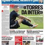 Corriere dello Sport – 'Torres da Inter'