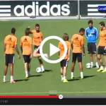 Video – Real Madrid, CR7 è incontenibile: show incredibile durante l'allenamento!
