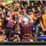 Video – Clamoroso al Camp Nou: un tifoso mette la maglia del Real Madrid? Cacciato dallo stadio!