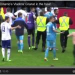 Follia in campo in Russia: un tifoso colpisce Granat dopo Zenit-Dinamo Mosca. Commozione cerebrale per il capitano moscovita