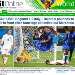 FOTO – Inghilterra-Italia, le reazioni della stampa inglese: 'Balotelli ci ha steso'