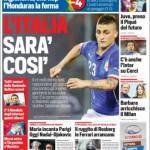 Rassegna stampa: Corriere dello Sport – L'Italia sarà così
