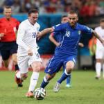 Nazionale, De Rossi e Barzagli non si allenano: out contro la Costa Rica?