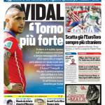 Tuttosport – Vidal 'Torno più forte'