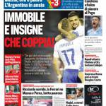 Corriere dello Sport – Immobile e Insigne, che coppia