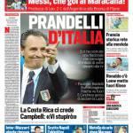 Corriere dello Sport – Prandelli d'Italia