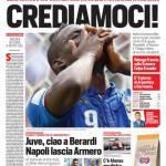 Corriere dello Sport – Crediamoci