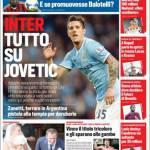 Corriere dello Sport: Inter, tutto su Jovetic