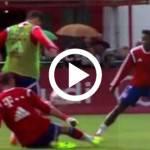 Video – Bayern Monaco, Lewandowski si presenta con un gol pazzesco: doppio tacco e palla dentro