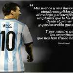 Mondiali 2014: ecco il commovente messaggio di Messi all'Argentina
