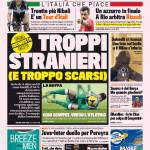 Gazzetta dello Sport – Troppi stranieri (e troppo scarsi)