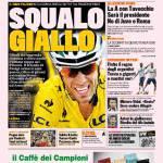 Gazzetta dello Sport – Squalo giallo