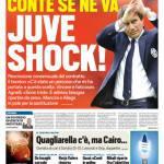 Tuttosport – Juve Shock