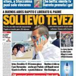 Tuttosport – Sollievo Tevez