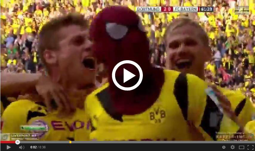 Dortmunds Aubameyang Spiderman Fährt Aston Martin ... Pierre Emerick Aubameyang Spiderman