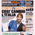 Gazzetta dello Sport – Conte in Gazza 'Così cambio l'Italia'