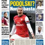 Tuttosport – Podolski? Non basta