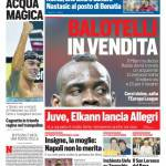 Corriere dello Sport – Balotelli in vendita