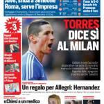 Corriere dello Sport – Torres dice sì al Milan