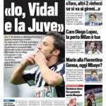 Rassegna Stampa: TuttoSport – Io, Vidal e la Juve