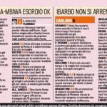 Fantacalcio Roma-Cagliari, voti e pagelle della Gazzetta dello Sport: Florenzi il migliore, Ibarbo lotta