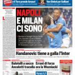 Corriere dello Sport – Napoli e Milan ci sono