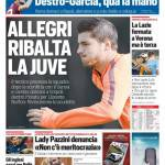 Corriere dello Sport – Allegri ribalta la Juve
