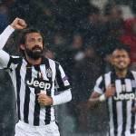Juventus, Pirlo si ferma per 20 giorni: lesione al gemello mediale della gamba destra