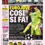 Gazzetta dello Sport – EuroJuve così si fa