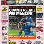 Gazzetta dello Sport – Quanti regali per Mancini